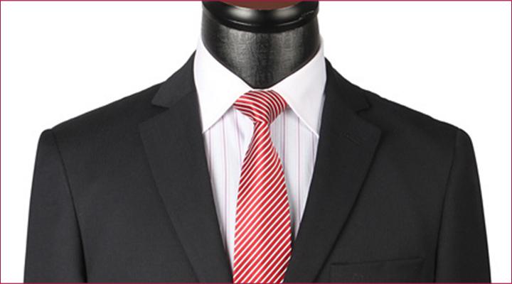 como combinar gravata listrada?