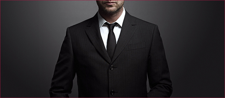 cor ideal do terno, da camisa e da gravata