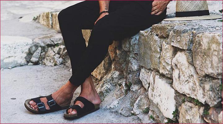 birken birkenstock sandália masculina
