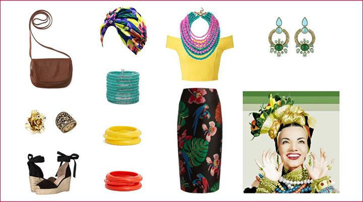 fantasia carnaval estilo moda