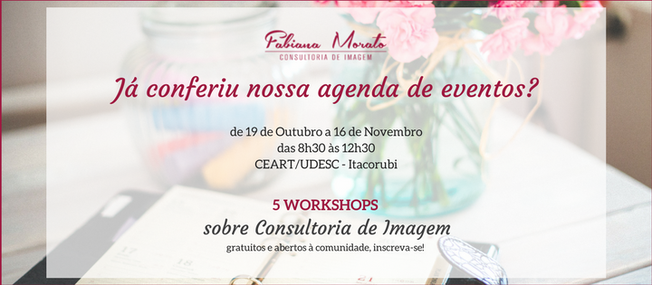 workshop, oficinas, florianopolis, floripa, udesc, moda, consultoria de estilo